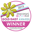 Gold Daisy Award Winner 2015 by Macaroni Kids