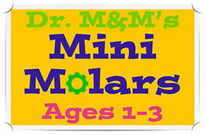 Dr. Malik's Mini Molars at the Pediatric Dentist in the areas of Sarasota, Lakewood Ranch and Venice